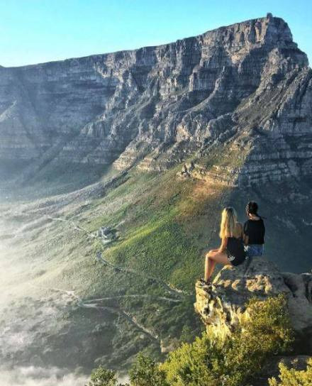 Table Mountain from love Cape Towm