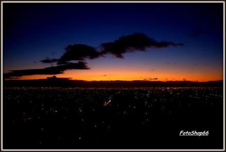 dawn Cape Town home again
